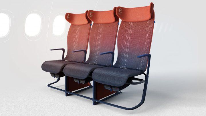 Airbus向けの旅客機シートのプロトタイプ「Move」 エコノミークラスのフライト体験価値の向上を目指す