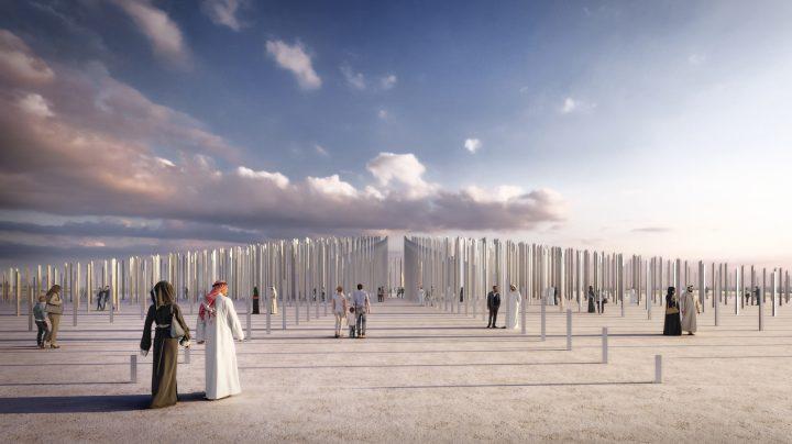 建築設計事務所OMAとInside Outsideがデザイン ドバイ・ジュメイラ・ビーチの「Ethar – Honoring Ge…