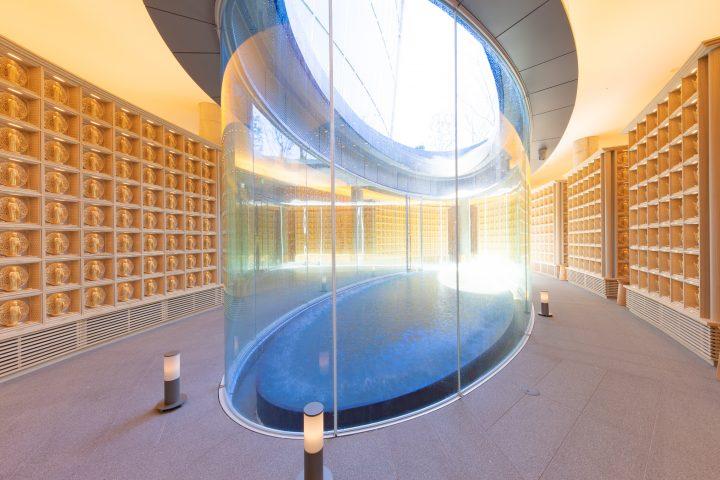 安藤忠雄建築研究所が設計を手がけた納骨堂 「ひかりの園」が東京・西五反田にオープン
