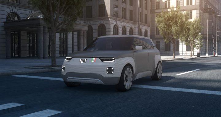 コンセプトカー「Fiat Concept Centoventi」が公開 とことんカスタマイズ可能なアクセサリーが特徴