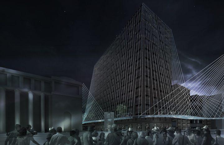 ニューヨークのまったく新しい遊歩道の設計案 ミラノの建築事務所 Lissoni Associatiの「High Lines」