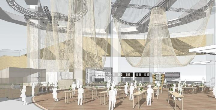 永山祐子が六本木の街を幻想的な巨大アート空間に変える 「CRAFT SAKE WEEK at ROPPONGI HILLS 2019」が開催