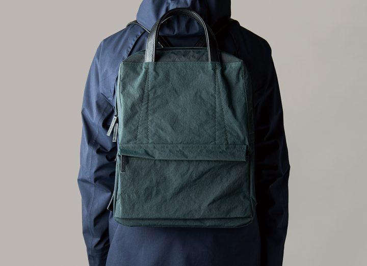 POSTALCOからライトハンマーナイロンを採用したバッグ 「Backpack LT」と「Shoulder Bag Large LT」が登場
