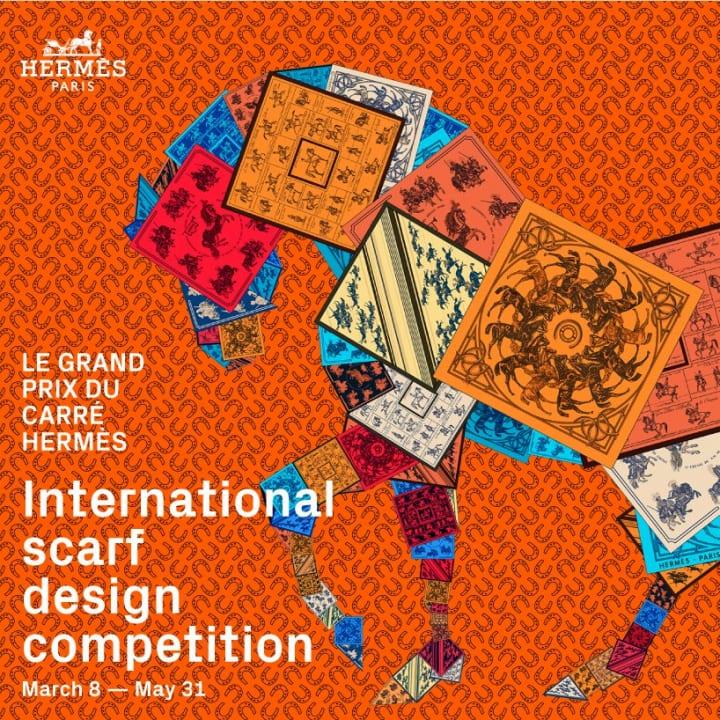 エルメスがスカーフのデザインコンペ 「LE GRAND PRIX DU CARRÉ HERMÈS」を開催