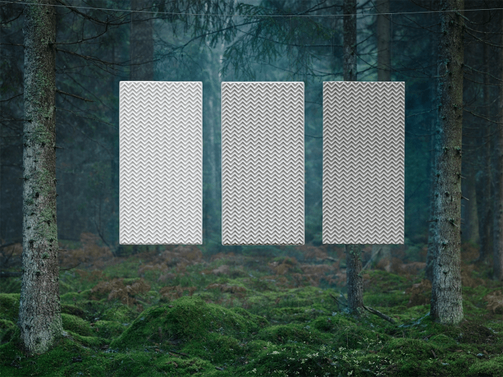 100%の生分解性を持つパネル「BAUX」を用いた 写真家 Jonas Lindströmによる実験「INTO THE WILD」