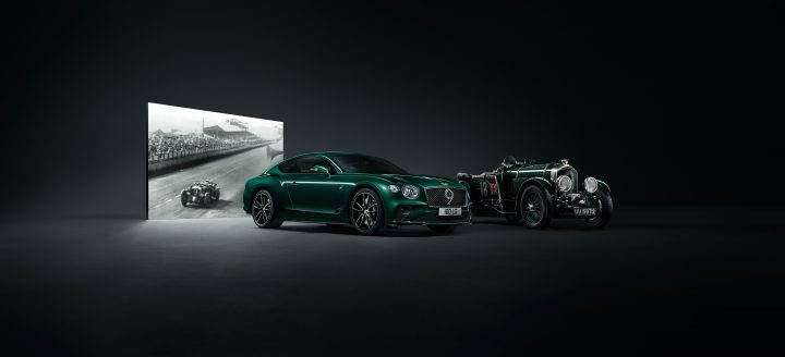 ベントレー創業100周年のコレクターズバージョン 「Continental GT Number 9 Edition」を公開
