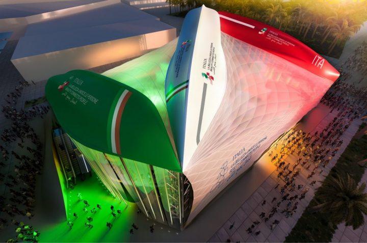 ドバイ国際博覧会イタリアパビリオン Carlo Ratti Associatiが手がけたデザイン案が発表