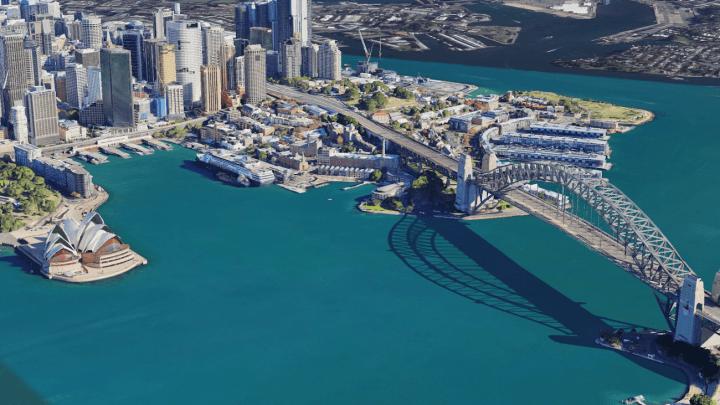Google Earthでシドニーを3Dで楽しめる 正確な風景を再現するプロセスがさらに進化