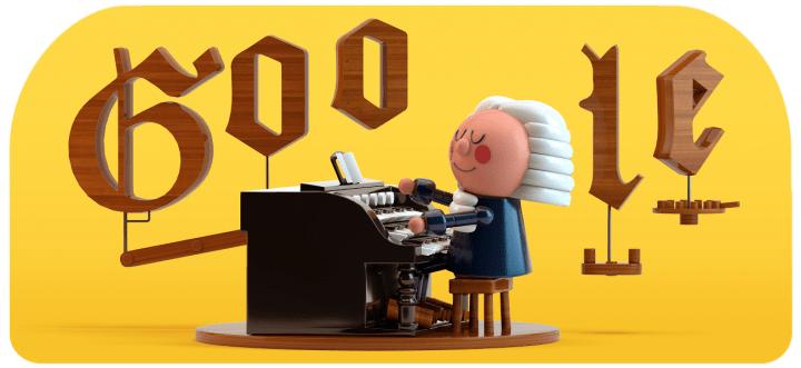 """Google Doodleでバッハ風音楽が楽しめる AIが""""バッハ調""""のハーモニーを自動生成"""