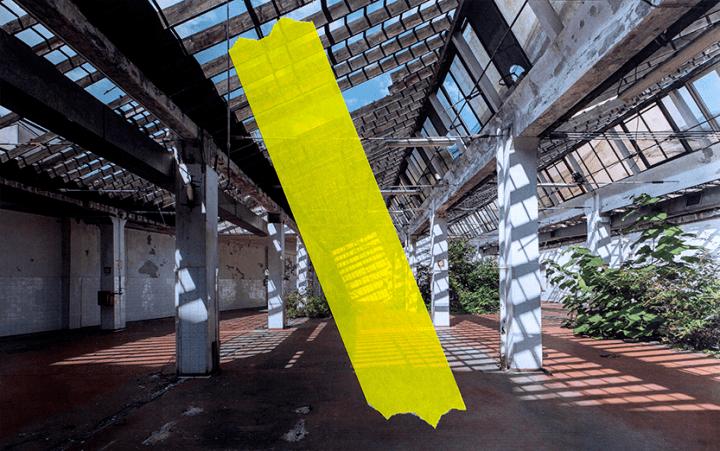 ニトムズがミラノデザインウィークに出展 SPREADが「色を貼る」インスタレーションを披露