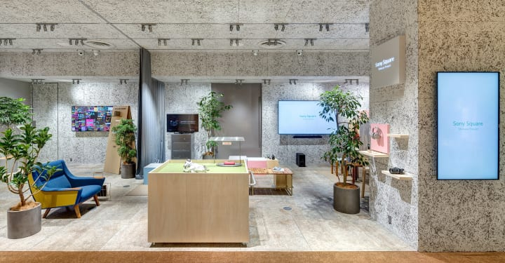 SAKUMAESHIMAが手がける「SONY SQUARE SHIBUYA PROJECT」 製品を販売しないソニーの実店舗プロジェクト