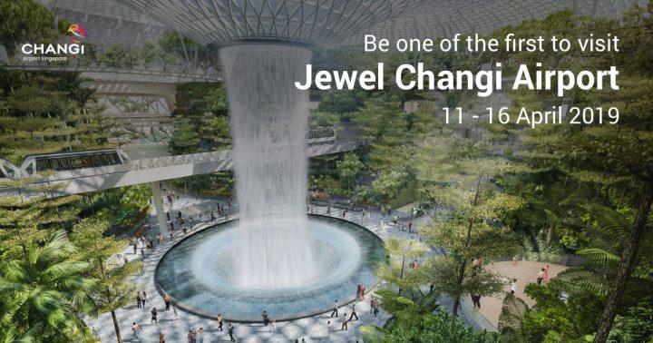 シンガポールの新複合施設「Jewel Changi Airport」 オープンに先駆けて内覧会の参加者を募集