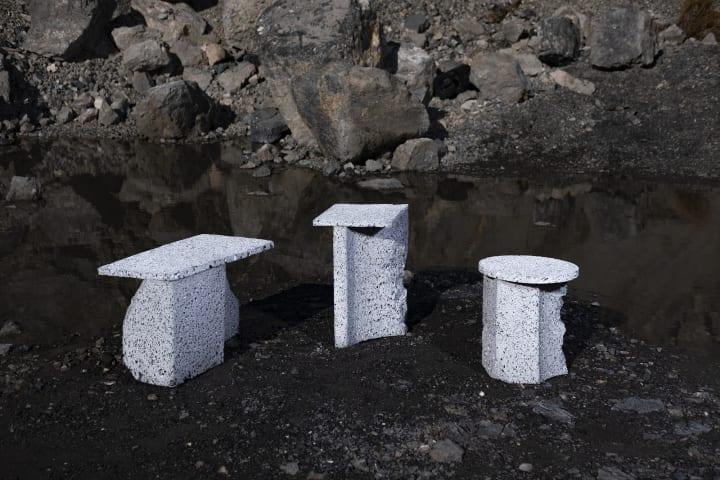 月の石が豊富にあったら何がつくれるか 未来を想像したインテリア「Moon Rock」