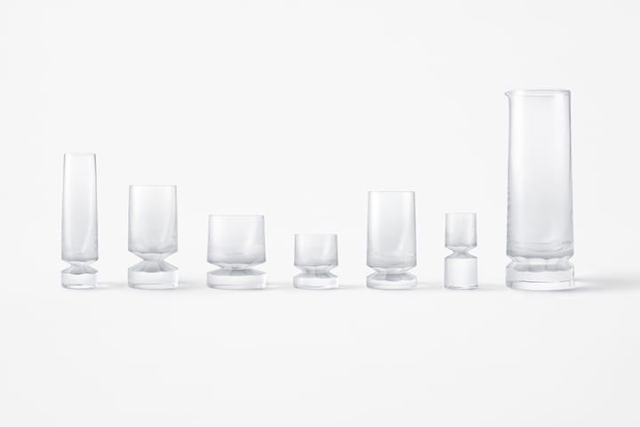 nendoの新作グラスウェアコレクション「beaver」 チェコの伝統的技術が生む煌めきとデザインの緊張感