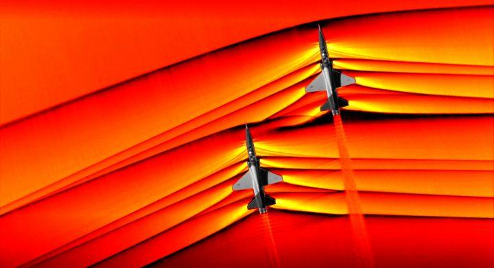 超音速航空機の轟音を抑えるには? NASAが衝撃波の相互作用を初めて撮影