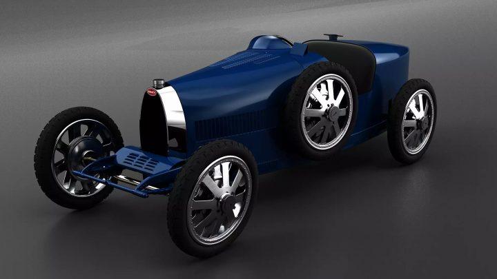 ブガッティが創業110周年を記念して 子供用モデルを500台限定生産
