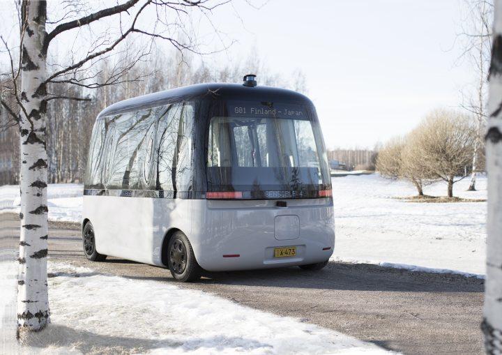 良品計画がヘルシンキで進める自動運転バス 「GACHA」がいよいよ商業運転に向け始動