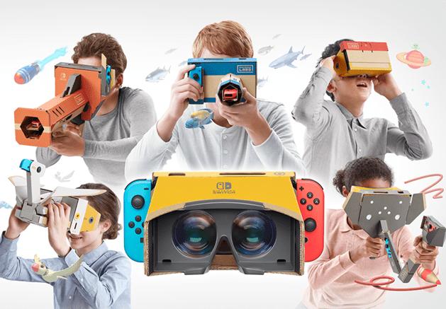 「Nintendo Labo」シリーズから新作が登場 手軽にVRゲームが遊べる「Nintendo Labo: VR Kit」