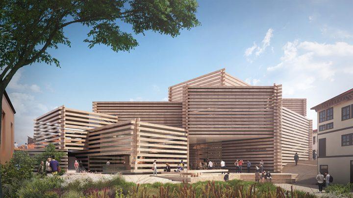 隈研吾が設計を手がけるトルコの現代美術館 「Odunpazari Modern Art Museum」