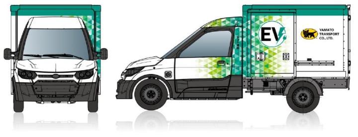 独ストリートスクーターとヤマト運輸 宅配に特化した小型商用EVトラックを共同開発