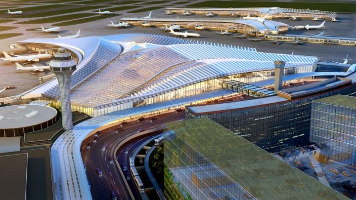シカゴ・オヘア国際空港の新ターミナル設計コンペ 建築家 ジーン・ギャングが率いるチームが勝利