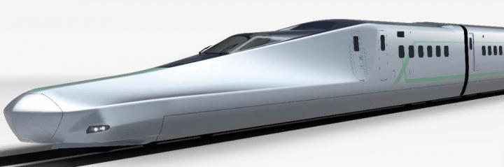 JR東日本の次世代新幹線「ALFA-X」が登場 最⾼速度400km/hで試験走行を開始
