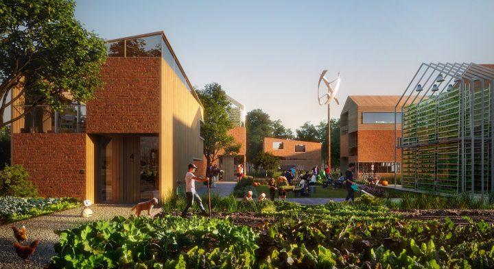 オランダ南部で計画中の「Brainport Smart District」 建物と景観に新しい関係を築く持続可能な新地区