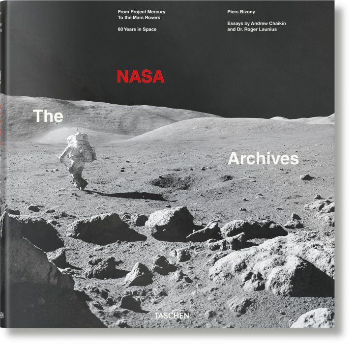 NASAの活動を写真で振り返る 「The NASA Archives. 60 Years in Space」 TASCHENから登場