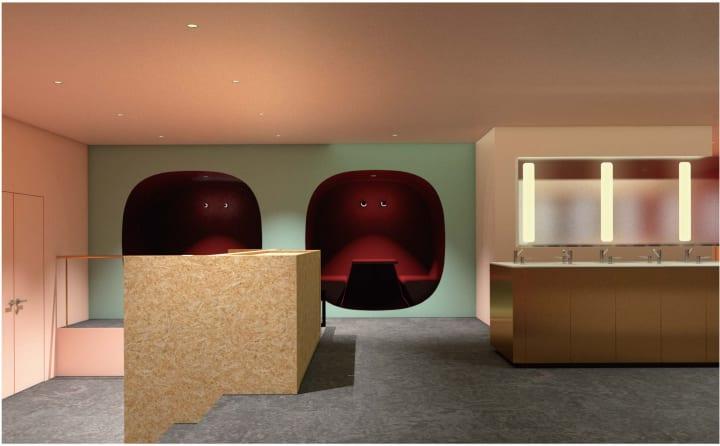「ナインアワーズなんば駅」がオープン 空間デザインは成瀬・猪熊建築設計事務所が担当