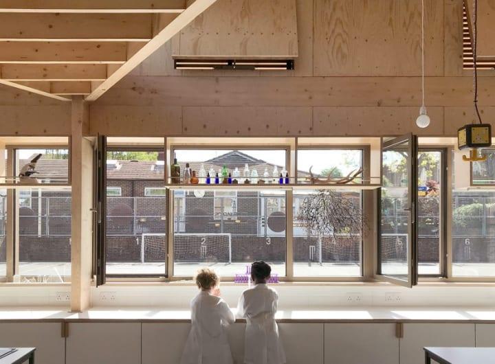 ロンドンに完成した「Eleanor Palmer Science Lab」 子どもの好奇心を育む学習スペース