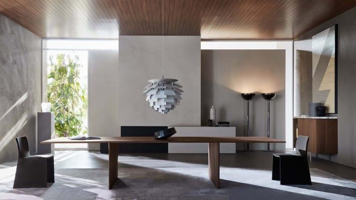 建設事務所 Foster + Partnersと家具ブランド モルテーニ モジュール式ティンバーテーブル「Ava」を公開
