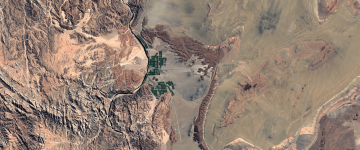 Google Earthの「タイムラプス」機能がアップデート 過去35年間の地球の変化が明らかに