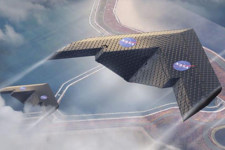 MITとNASAのエンジニアが新しい飛行機の翼を開発 小さな部品を数百個も組み立てた構造