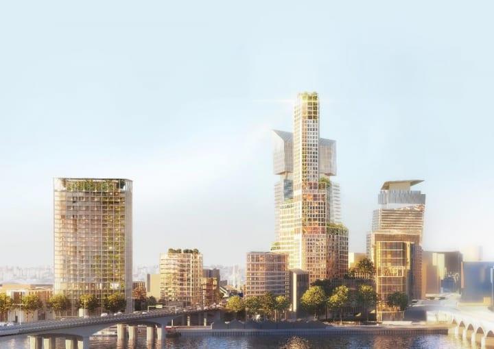 パリ郊外の再開発プロジェクト「Inventer Bruneseau」 フランスで初めてとなる脱炭素地区を構想