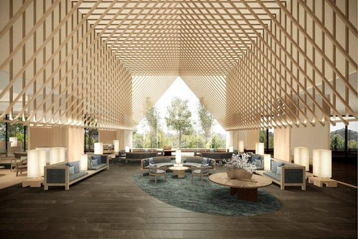 立川の「GREEN SPRINGS」にオープンする「SORANO HOTEL」 グエナエル・ニコラがファサードと内装を担当