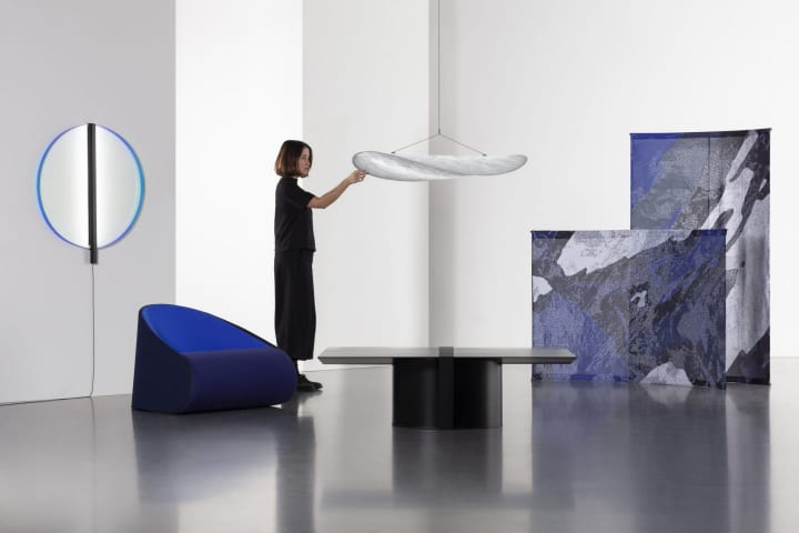 デザインスタジオ Panter&Tourronによる「Tense」 移動性や流動性のあるグローバルな時代の家具を考…