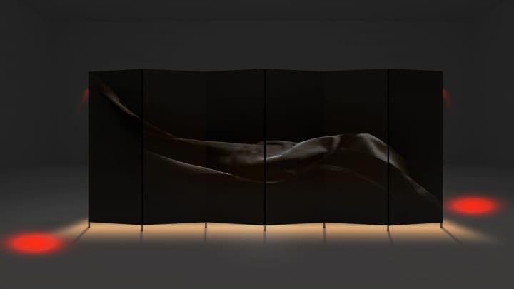 ワークテクトが「ヴェニス デザイン 2019」に出展 「屏風」をモチーフにした作品「BIOMBO」を披露