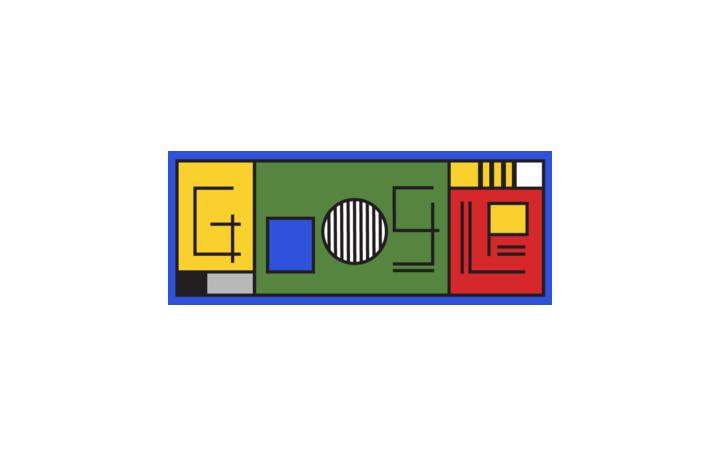 Google Doodleが新たなアニメーションを公開 バウハウス設立100年を記念したイラストが満載