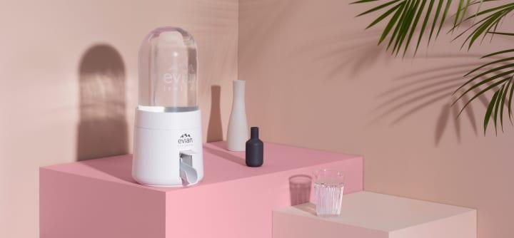 家庭用コネクテッドウォーターサーバー「evian®(re)new」が登場 ユニークなデザインでプラスチック包装…