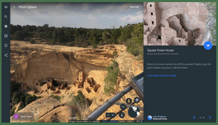 Google Earthでアメリカの国立公園を楽しむ 全31か所をガイドツアー付きで紹介