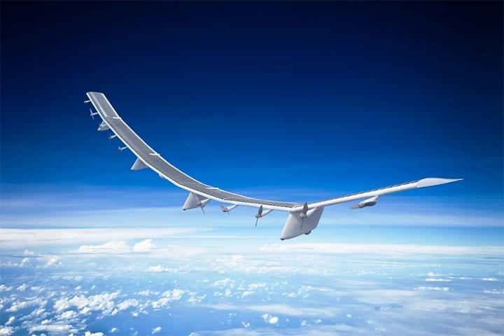 ソフトバンクが無人航空機「HAWK30」を開発 成層圏を飛行させて通信ネットワークを提供