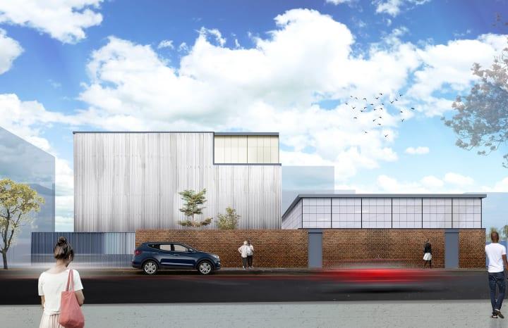 米 ニューヨークのNoguchi Museum 新たなアーカイブ棟の設計案が公開
