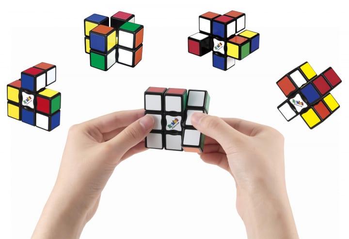 ルービックキューブ史上最薄 6面立体パズル「ルービックフラット3×1」が登場