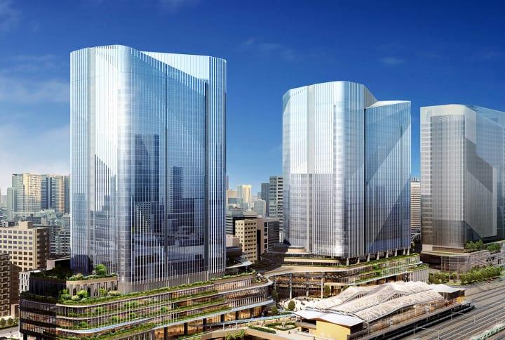 品川開発プロジェクト(第Ⅰ期)が都市計画決定 隈研吾、ピカード・チルトンらによるデザイン構想が実現に…