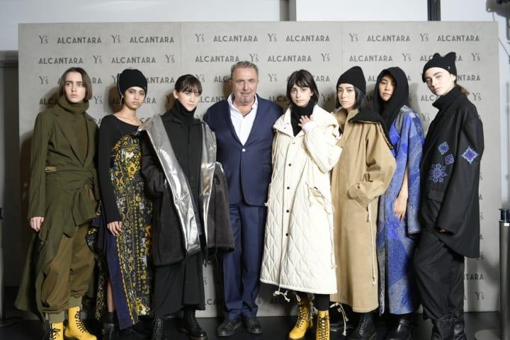 アルカンターラとY's(ワイズ) 5年ぶりにランウェイ形式でコレクションを発表