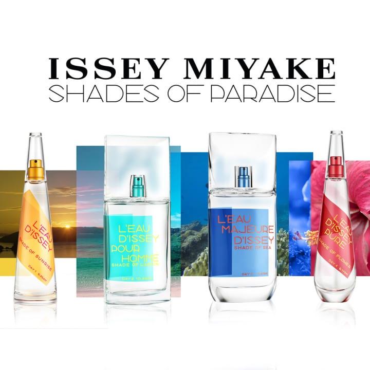 ISSEY MIYAKE PARFUMSから2019年限定のサマーフレグランスが登場 楽園の島をイメージした「イッセイ ミヤ…