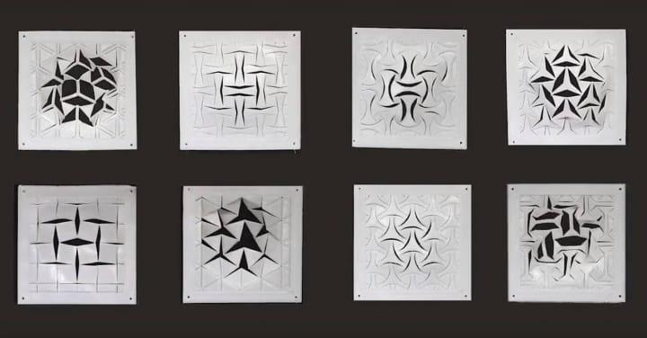 慶應義塾大学・田中浩也の新作「Breathing Facade」が公開 温度で変化して「呼吸」する形状記憶ポリマーの…