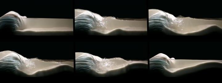 MITの「Self Assembly Lab」が海面上昇対策を発表 波のエネルギーを利用して砂を堆積させるプロジェクト