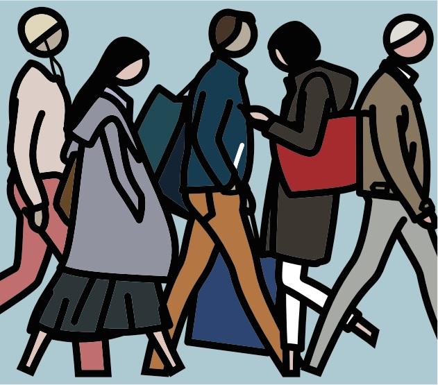 現代美術を語るうえで欠かせないアーティスト 展覧会「ジュリアン・オピー」が開催