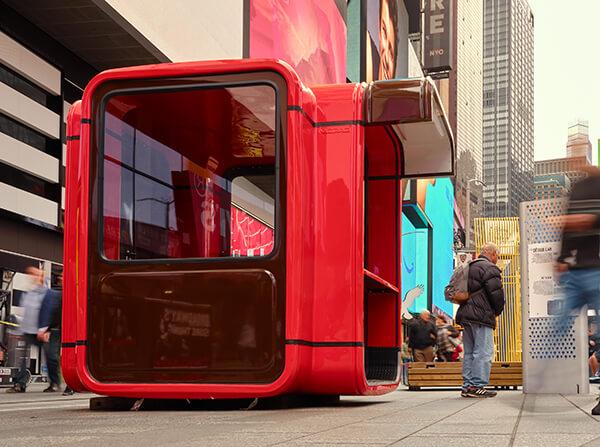 ニューヨークの「タイムズスクエア・デザインラボ」 公共スペースのための新しいアイデアをブロードウェイ…